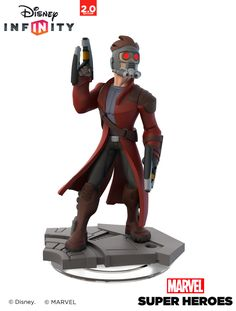 Star Lord - Disney Infinity 2.0 - Toy Sculpt, Ian Jacobs on ArtStation at https://www.artstation.com/artwork/star-lord-disney-infinity-2-0-toy-sculpt