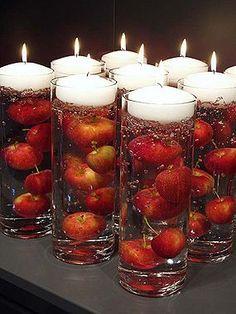 Candele In Acqua 10. Fall Wedding CenterpiecesCenterpiece IdeasApple ...