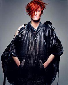 Tilda Swinton as David Bowie   Another Magazine   ph. Craig McDean