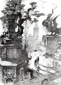 Disney's Atlantis production art