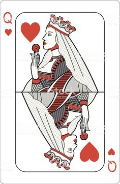 Simple Queen Of Hearts Card KitchenAid is adulatory 100 years of creating kitchen appliances, decidedly angle mixers, accepted and admired in kitchens beyond America and the blow. Queen Of Hearts Card, Queen Of Hearts Tattoo, Queen Tattoo, Hearts Playing Cards, Playing Cards Art, Coeur Tattoo, Queen Drawing, Heart Illustration, Card Drawing
