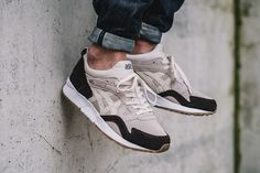 On-Foot: ASICS Tiger Gel Lyte V 'Birch & Coffee' - EU Kicks: Sneaker Magazine