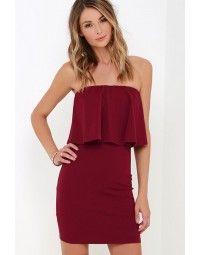 Sweet Strapless Dress