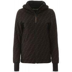 Geaca dama Fendi, FF print, mesh jacket Fendi, Gucci, Mesh Jacket, N21, Moncler, Balmain, Tweed, Chevron, Turtle Neck