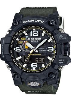 0fb088059fe3 G-Shock Mudmaster Atomic Solar Army Green watch is now available on  Watches.com