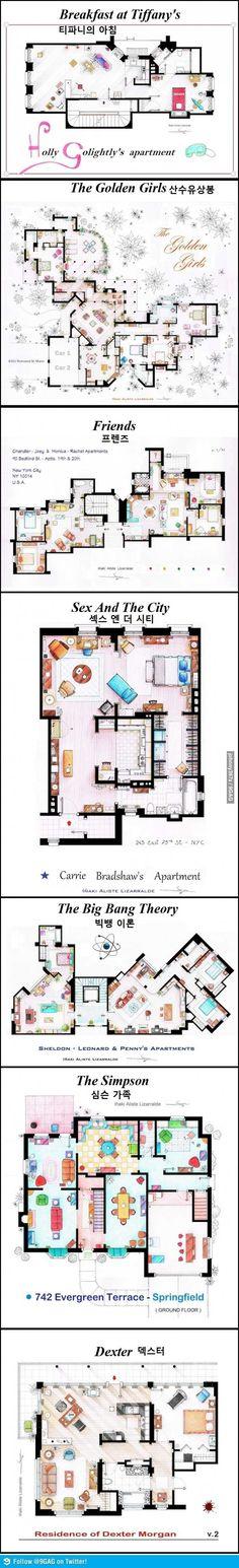 Pgr21 - [유머] 외국드라마 집 설계도