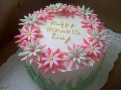Pretty mother's day cake