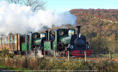 The railway's steadfast Hunslet ladies, Linda and Blanche, are 125 years old in 2018 and we are throwing a party! Heritage Railway, Spur, Throw A Party, Train Layouts, Locomotive, The Past, Racing, British, Welsh
