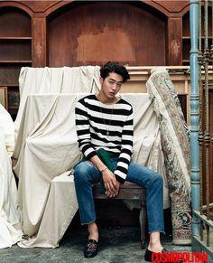 "Nam Joo Hyuk - ""Moon Lovers: Scarlet Ryeo"" cast individual shots for Cosmopolitan Magazine August Issue Korean Men, Asian Men, Korean Actors, Asian Guys, Sung Joon, Lee Sung Kyung, Busan, Scarlet Heart Ryeo Cast, Jong Hyuk"
