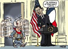 Placide (2015-11-25) Hollande rameute ses troupes à Washington