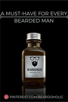 A Must-Have Beard Oil For Every Bearded Man. Beard Care From Beardoholic.com
