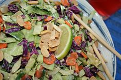 Recipe: Cabbage Slaw Two Ways :: Easy Like a Sunday Morning | Fox in the Kitchen