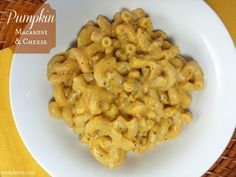 Something about Fall makes me want to put pumpkin in everything. I've seen pumpkin mac & cheese around lately in restaurants and on other blogs, so I decided to take a crack at my own recipe for it. I already knew pumpkin and pasta work well together from the Sausage & Pumpkin Pasta I've made …