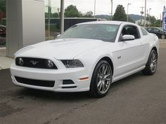 New 2014 Ford Mustang Coupe GT (White Car) | Charleston