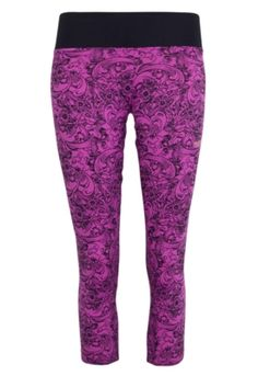 Calça Legging Mizuno Corsário Mensa F Floral  | Dafiti Sports #training #fitness #woman #girls