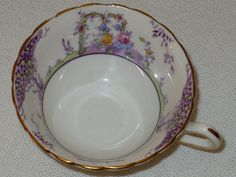 Tea Cups Copelands Grosvenor England Two Cups by designfinder, $12.00