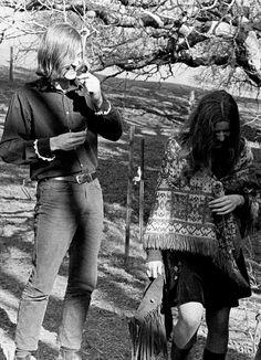 Janis Joplin and Sam Andrew