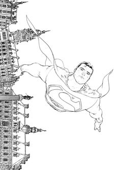 Superman by Frank Quitely... Very awesome!!