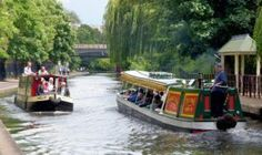 Boats on the Regent's Canal