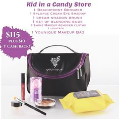 A bag of goodies for every lady; get one here: https://www.youniqueproducts.com/LanaMyNguyen/party/1593739/view