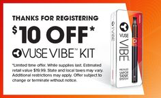 2 Coupons for FREE 1 Vuse Solo & 1 Vuse Cartridges ...