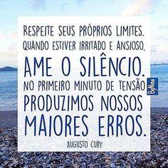 E a mais pura verdade, tem de ter postura e atitude, sinal de respeito próprio!