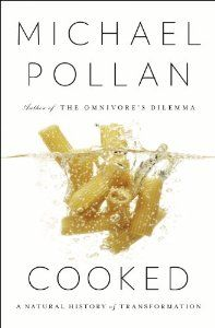 Cooked: A Natural History of Transformation: Michael Pollan (click for great Marketplace segment on cooking)