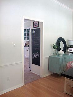 Chalkboard for Kitchen Idea
