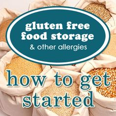 Ever wondered how to start a food storage plan with an allergy. Save this, and share with your friends. Tips that will help you start thinking!