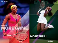 "Win Serena Williams posters from Wilson! To enter, send this tweet:  ""@wilsontennis I wanna win @serenawilliams #tennis posters"""