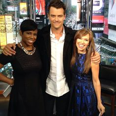 Always great to have a visit from @joshduhamel! He dropped by #newyorklivetv to talk #yourenotyou, #battlecreek & the #shareameal campaign to fight childhood hunger. Head to newyorklivetv.com to catch the full interview! #joshduhamel #newyork #celeb