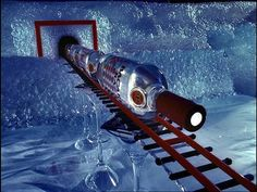 Bacardi Train by Pes. Great stop motion.