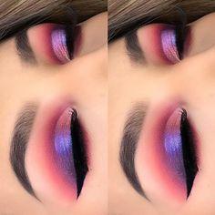 Beauty Junkees Eye Makeup Brush Kit with Case - Cute Makeup Guide Eye Makeup Brushes, Eye Makeup Art, Simple Eye Makeup, Natural Eye Makeup, Blue Eye Makeup, Eye Makeup Tips, Makeup For Brown Eyes, Cute Makeup, Makeup Goals