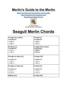 seagull merlin chords