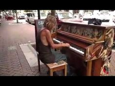 Video of Sarasota man playing piano shows homeless in a new ligh - YouTube