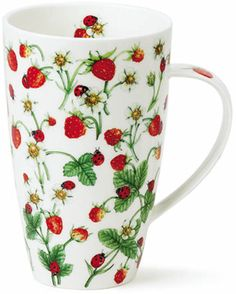 Wild Strawberry ~ for a tall cup of tea!