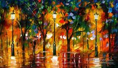 Leonid Afremov Expectation Of Love oil painting reproductions for sale