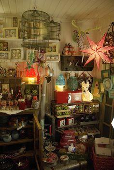 Tarja's Snowland: Pieni kahvio ja sisustuskauppa Pompoti jouluasussa!