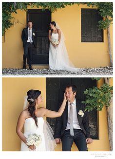 Ritratto di coppia. Wedding in Italy
