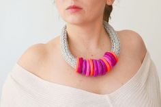 SALE  Colorful Polymer Clay Jewelry Neon