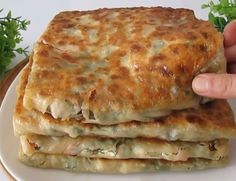 Turkish Recipes, Greek Recipes, Ethnic Recipes, Greek Pita, Turkish Breakfast, Spinach Dip, Breakfast Items, Lasagna, Recipies