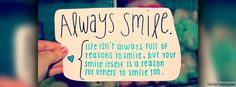 Always Smile Quotes Cool Facebook Covers, Best Facebook Cover Photos, Fb Covers, For Facebook, Facebook Profile, Facebook Timeline, Funny Cover Photos, Timeline Covers, Always Smile Quotes