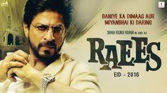 Raees HD Movie 2016 Download Torrent