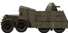 ADG Lorry - Rare Soviet Navy improvized armoured vehicle (1941)