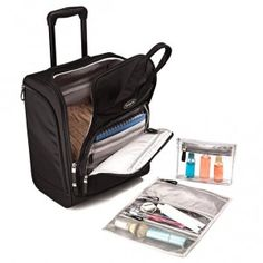 bdc5a7a88ce5 Samsonite Large Rolling Underseater in the color Black.