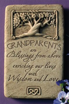 You are so blessed to have the most wonderful grandparents living so close to care for us all ...