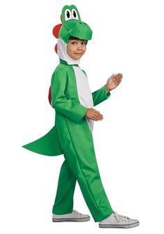 rubies costume co yoshi from super mario video game child deluxe lizard costume youth small