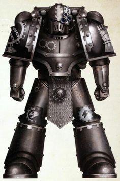 Iron Hands legionnaire.