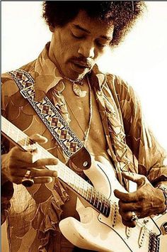 Jimi Hendrix...killed it. I inherited the who 4 album Jimi Hendrix Experience from my uncle when he passed away. Game changer ever since.