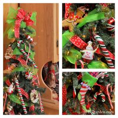 One of my favorite #christmas trees is this red,green and white candy themed tree in my kitchen.